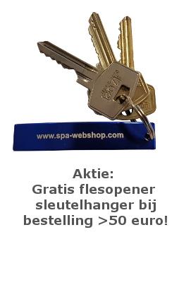 Spa-webshop.com sleutelhanger aktie