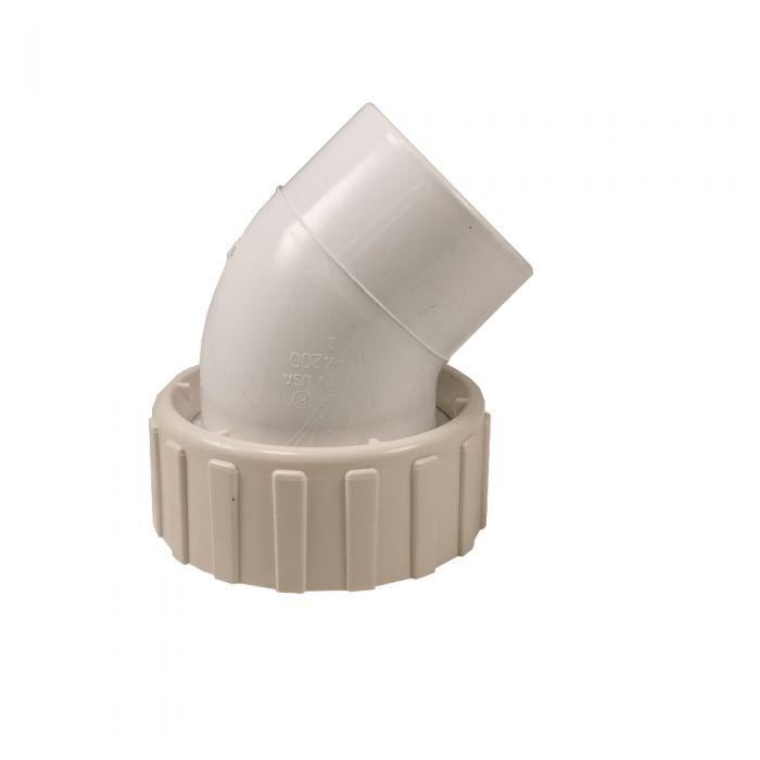 Pomp koppeling 2 inch 45 graden