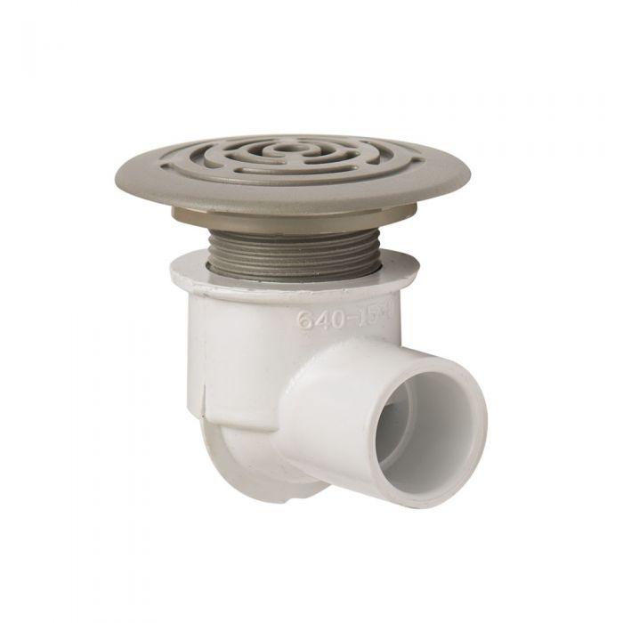 Afvoer drainage voor spa, grijs, laag profiel Waterway 640-0437