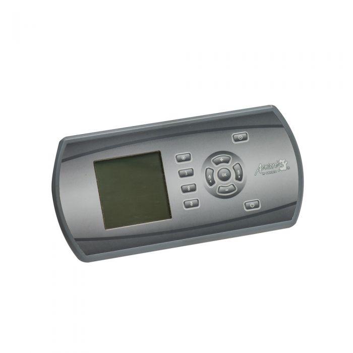 Grafische versie van de Aeware Gecko IN.K600 display.