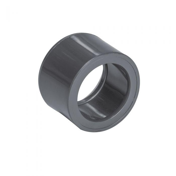 Spa PVC verloop metrisch van 50mm naar 63mm