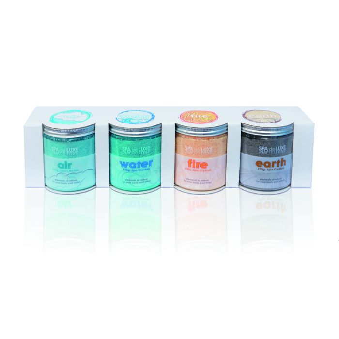 Spa aroma Spa de luxe crystals air water fire earth