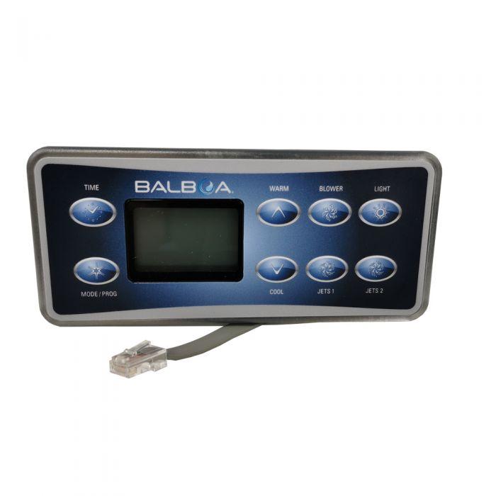 Balboa bedieningspaneel spa display VL801D #54108