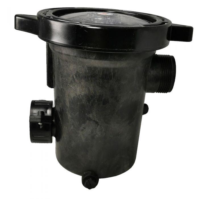 Bladfilter met filtermandje 2x 1,5 inch aansluiting Waterway 310-5400