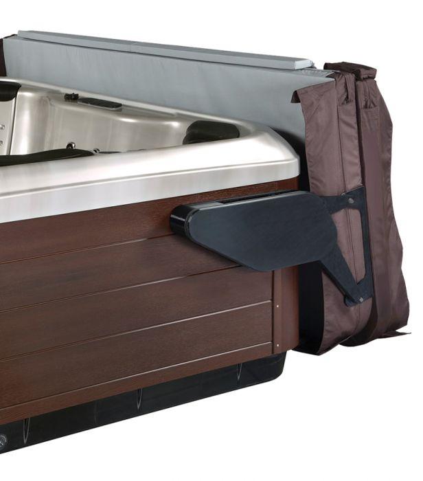 Coverlifter Covermate Vanish XL van Leisure Concepts open