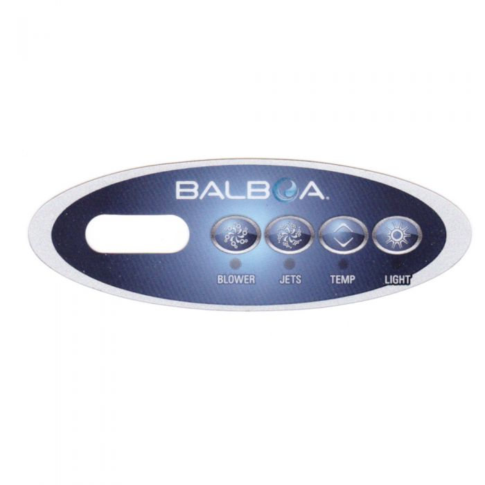 Sticker voor Balboa display type VL200 - Blower - Jets - Temp - Light
