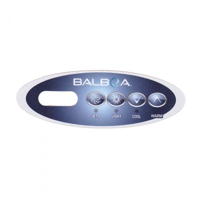 Sticker voor Balboa display type VL200 - Jets-Light-Cool-Warm