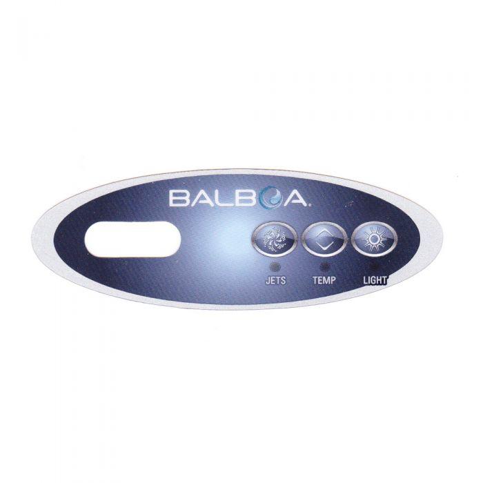 Sticker voor Balboa display type VL200 - Jets - Temp - Light