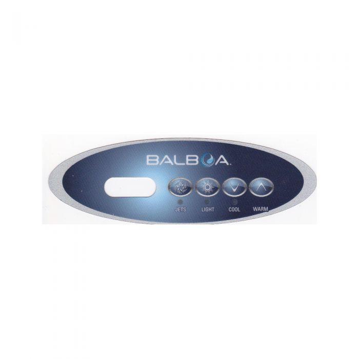 Overlay of sticker voor het display van Balboa type VL240 voor 1 pomp