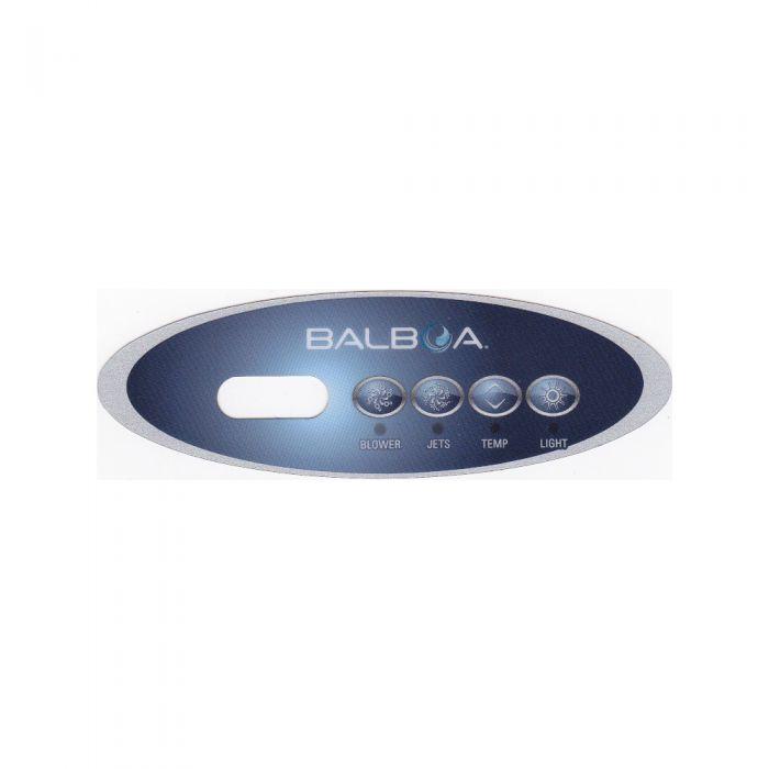 Overlay of sticker voor het display van Balboa type VL240 voor pomp en blower