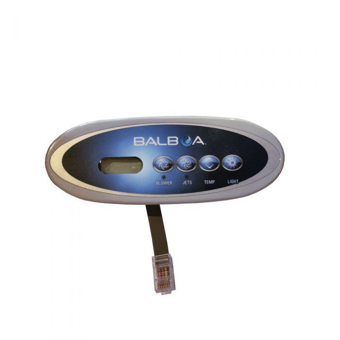 Spa display / bedieningspaneel Balboa VL240, LCD scherm met 4 knoppen