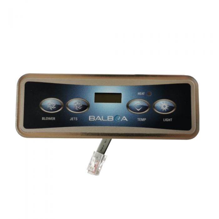 Spa display / bedieningspaneel Balboa VL401, LCD scherm met 4 knoppen