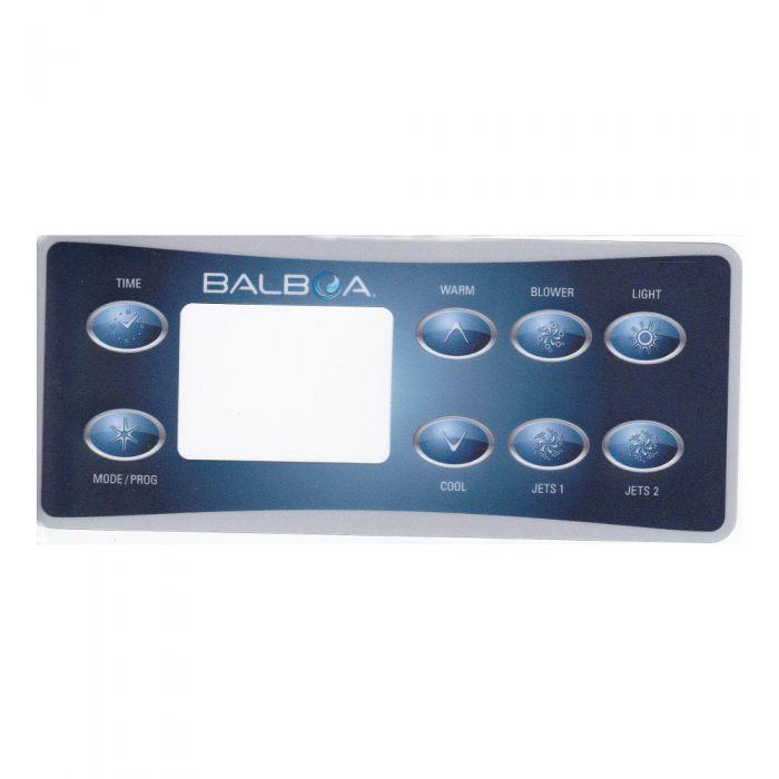Spa display overlay Balboa VL801D voor 3 pompen