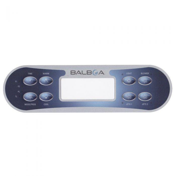 Sticker voor Balboa display type ML700 voor 2 pompen en blower