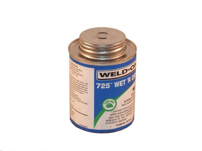 PVC lijm speciaal geschikt voor het lijmen van PVC verbindingen in spa's, 500ml