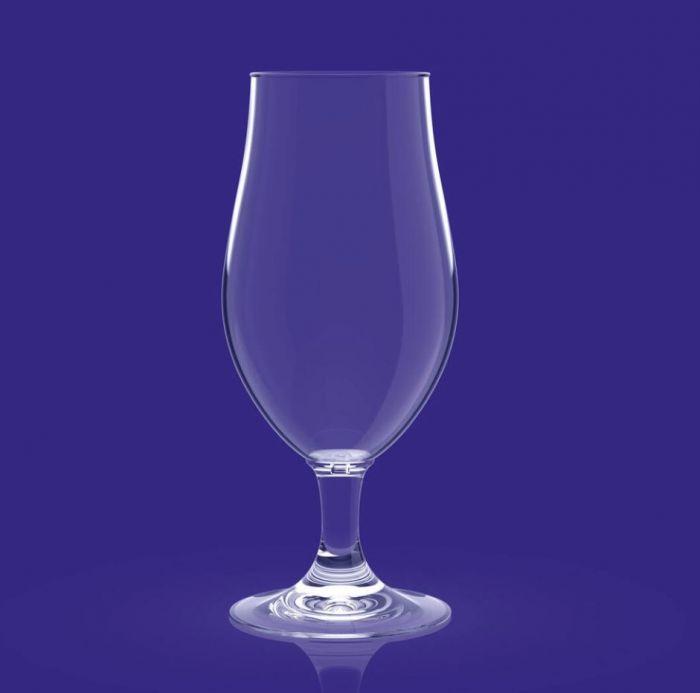 Set van 2 stuks kunststof bierglazen van HappyGlass kopen bij Spa-webshop