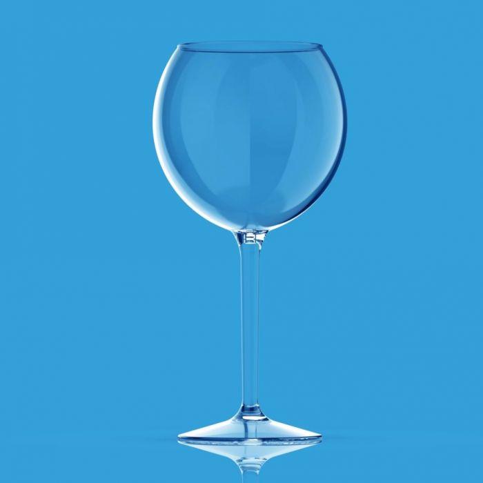 Set van 2 stuks onbreekbare kunststof wijn of gin-tonic glazen van Happy Glass Miss Liza