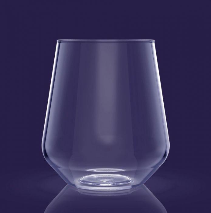 Set van 4 stuks kunststof water of wijnglazen model Yoko kopen bij Spa-webshop.com