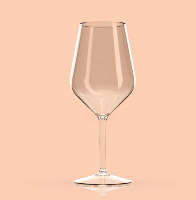 Set van 2 stuks onbreekbare kunststof wijnglazen van Happy Glass kopen bij Spa-webshop