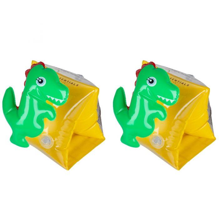 Zwembandjes voor kinderen van 2 - 6 jaar 3D Dino
