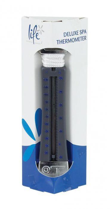 Drijvende thermometer voor spa en hottub met zuignap