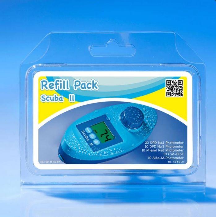 Lovibond refill pack voor Scuba II testtabletten