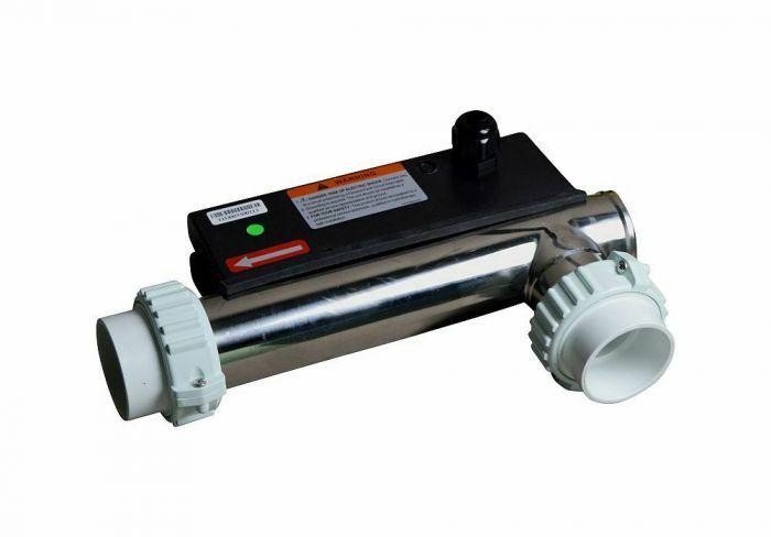 Spa verwarmingsbuis type LX H30-R2 3000W, hoekmodel zonder sensorkabel