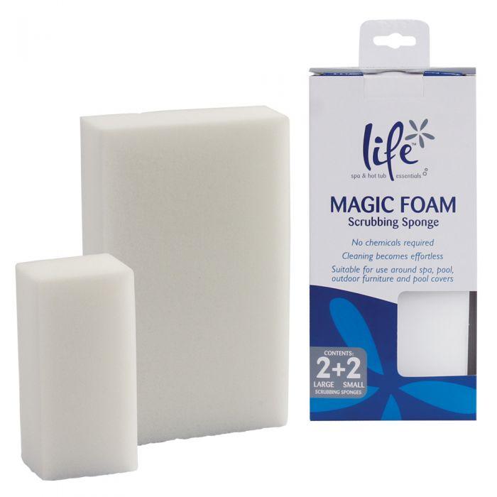 Magic Foam Scrub Sponges - Schoonmaaksponzen set van Life (4 stuks)