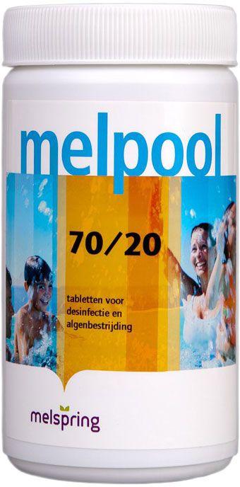 Melpool Chloor tabletten 70/20 - 1 kg