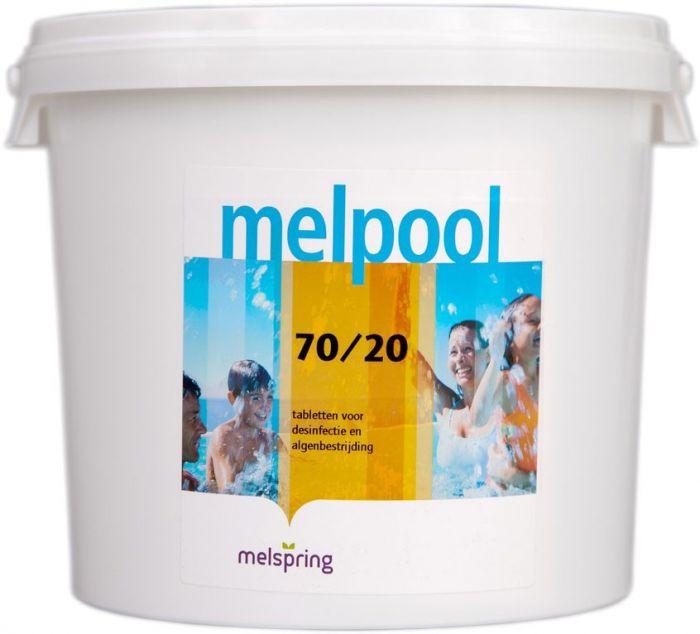 melpool chloor 70/20 5kg emmer