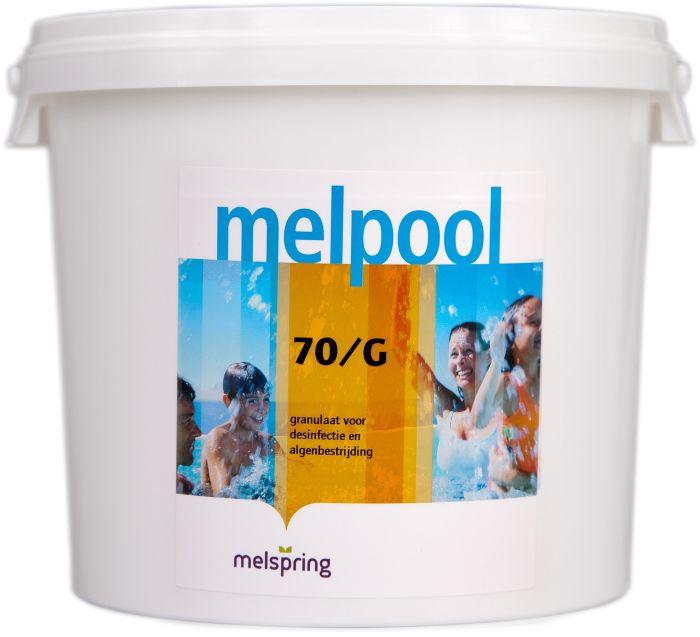 melpool chloor 70G 5kg emmer