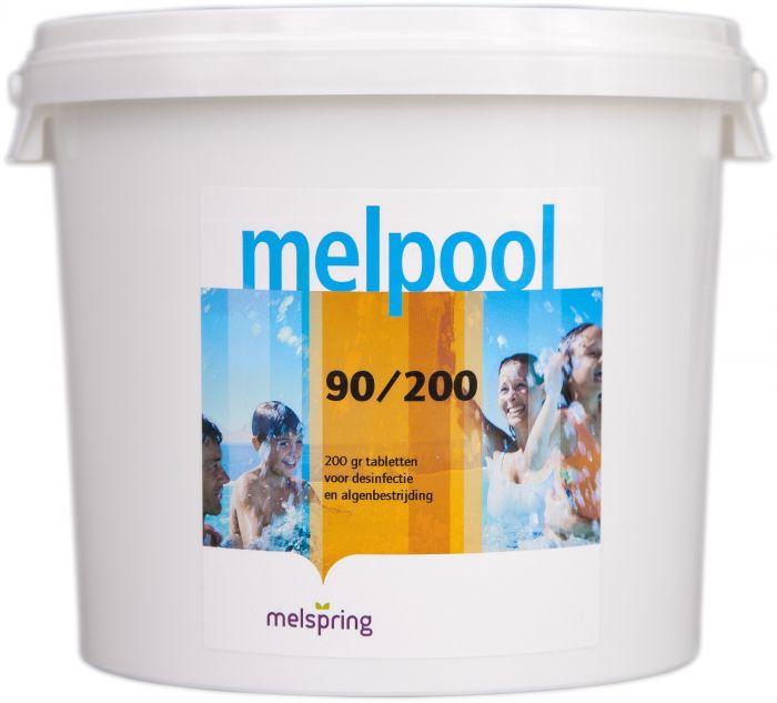 melpool chloor 90/200 5kg emmer