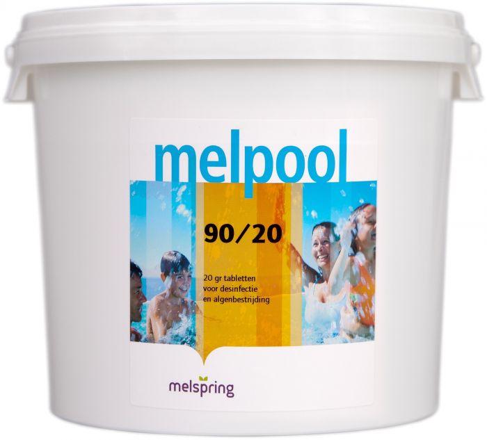 melpool chloor 90/20 5kg emmer