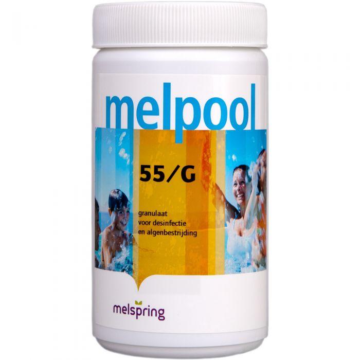 Melpool Chloor korrels 55G - 1 kg