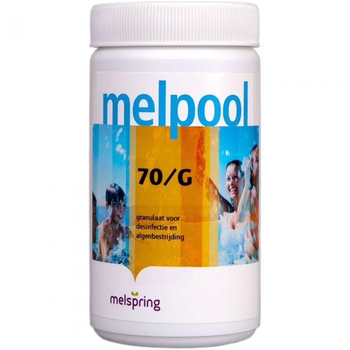 Melpool Chloor korrels 70G - 1 kg