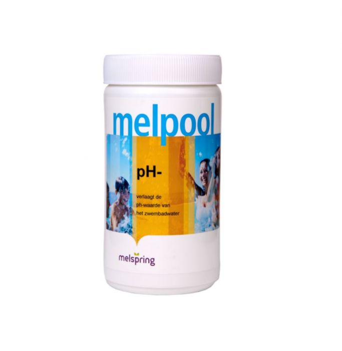 Melpool PH- korrels pot 1,5 kg