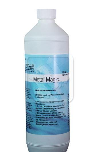 Metalmagic metaalverwijderaar zwembad