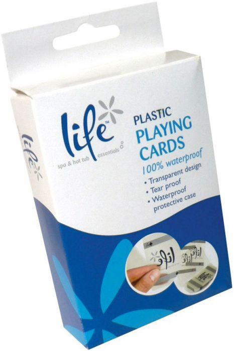 Waterproof speelkaarten voor in spa of jacuzzi