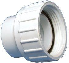 Spa pomp koppeling met moer 1,5 inch voor slang 50mm.