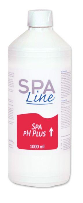 Fles vloeibare PH Plus vloeibaar Spa Line kopen bij Spa-webshop