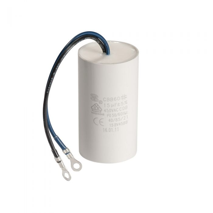 Spa pomp opstart capacitor condensator 16 µF met 2 aansluitdraden
