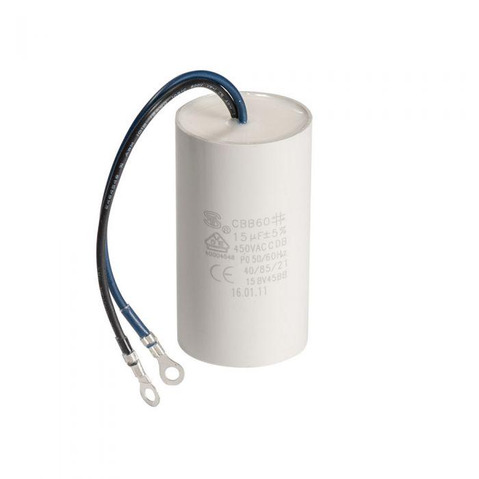 Spa pomp opstart capacitor condensator 20 µF met 2 aansluitdraden