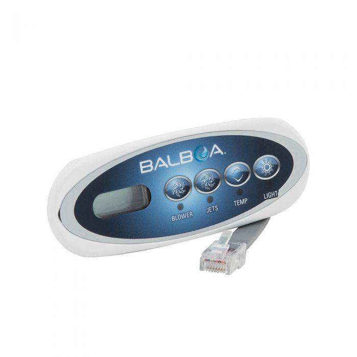 Spa display / bedieningspaneel Balboa VL200, mini LCD scherm met 4 knoppen