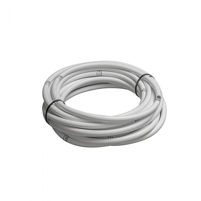 Spa leiding flex 0,5 inch wit flexible slang voor spa's, zwembaden en aquarium