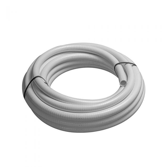 Spa leiding flex 1 inch wit flexibele slang voor spa's, zwembaden en aquarium
