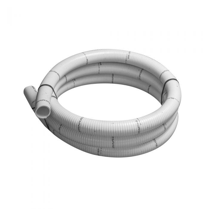 Spa leiding flex 2 inch wit flexible slang voor spa's, zwembaden en aquarium