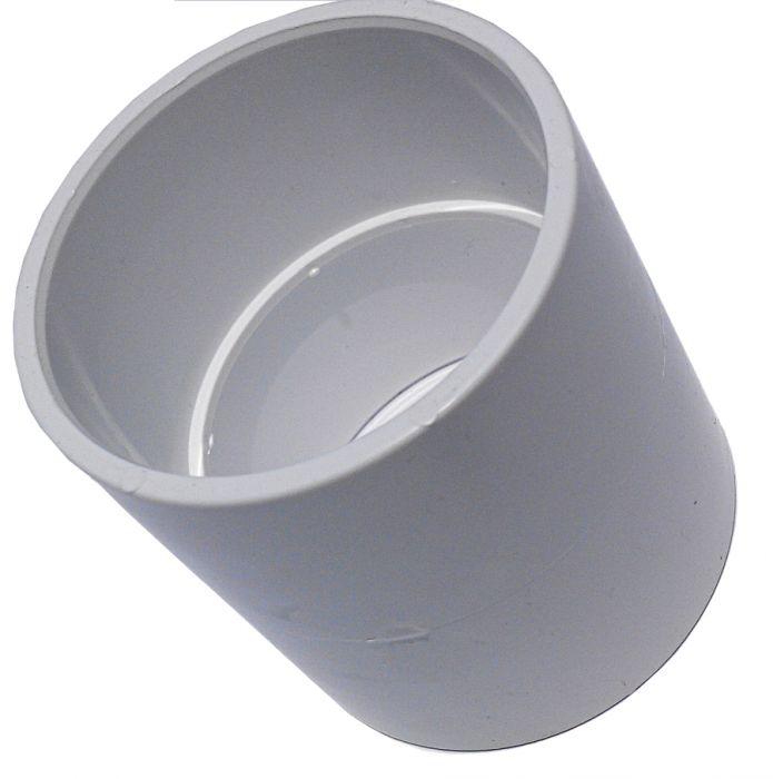 PVC verloop voor PVC van 1,5 inch en metrisch PVC van 50mm.