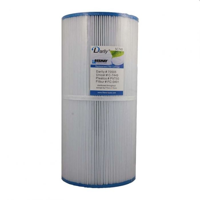 Spa filter Darlly SC740a 70505 - Pleatco PVT 50P - Unicel 7CH-50 voor oa Hotspring spas