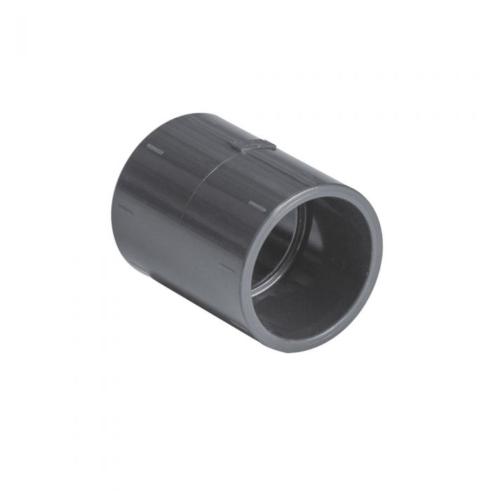 Spa PVC 32mm. koppelstuk / mof kopen bij Spa-webshop