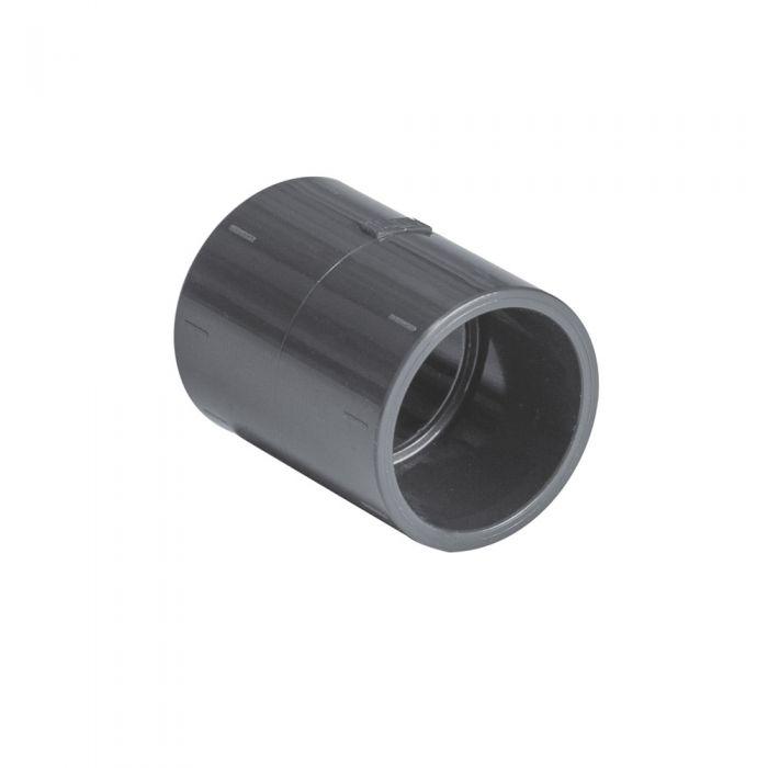 Spa PVC 50mm. koppelstuk / mof kopen bij Spa-webshop